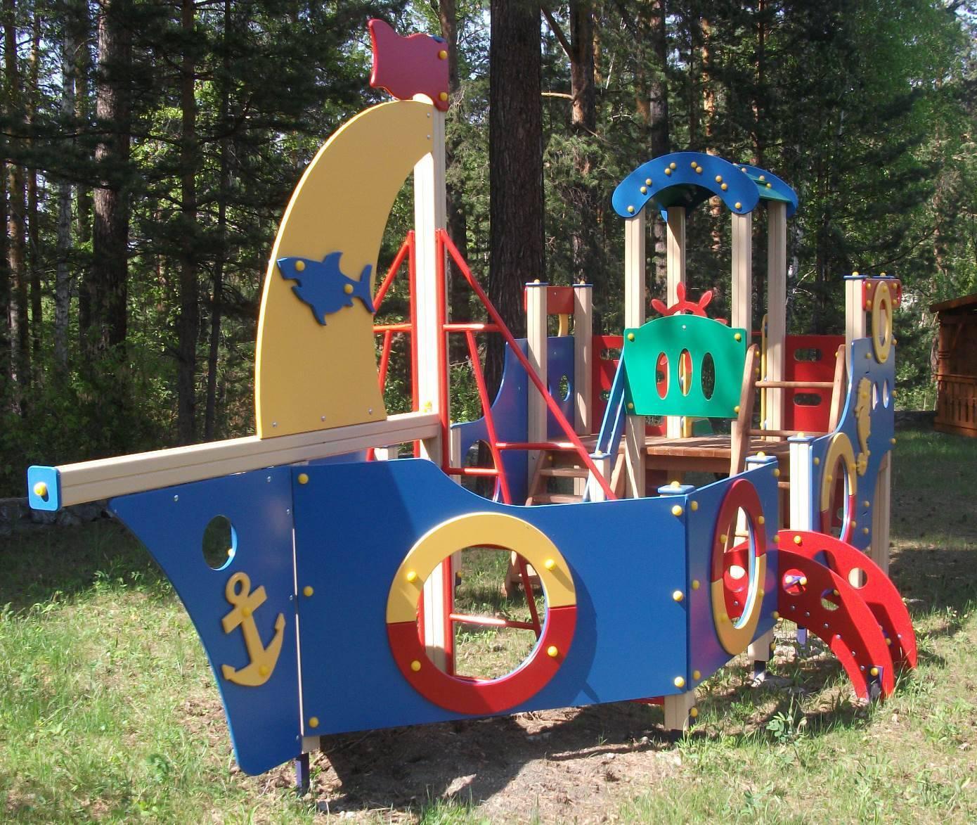 Исследование детской площадки