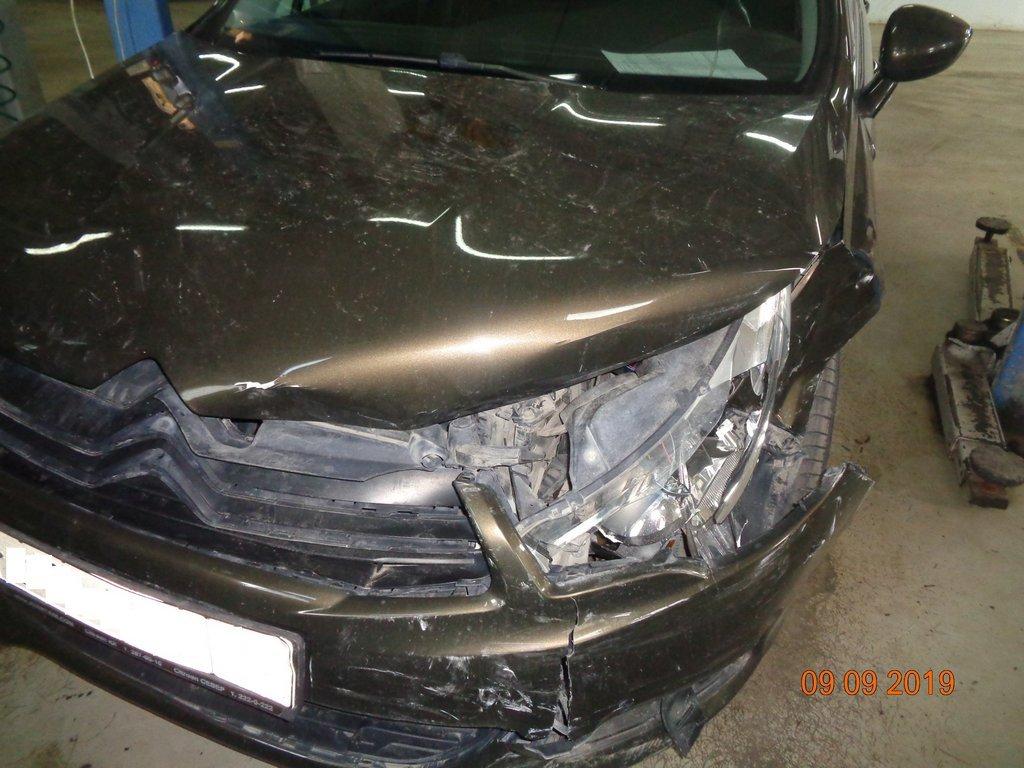 Оценка ущерба автомобиля citroen c4