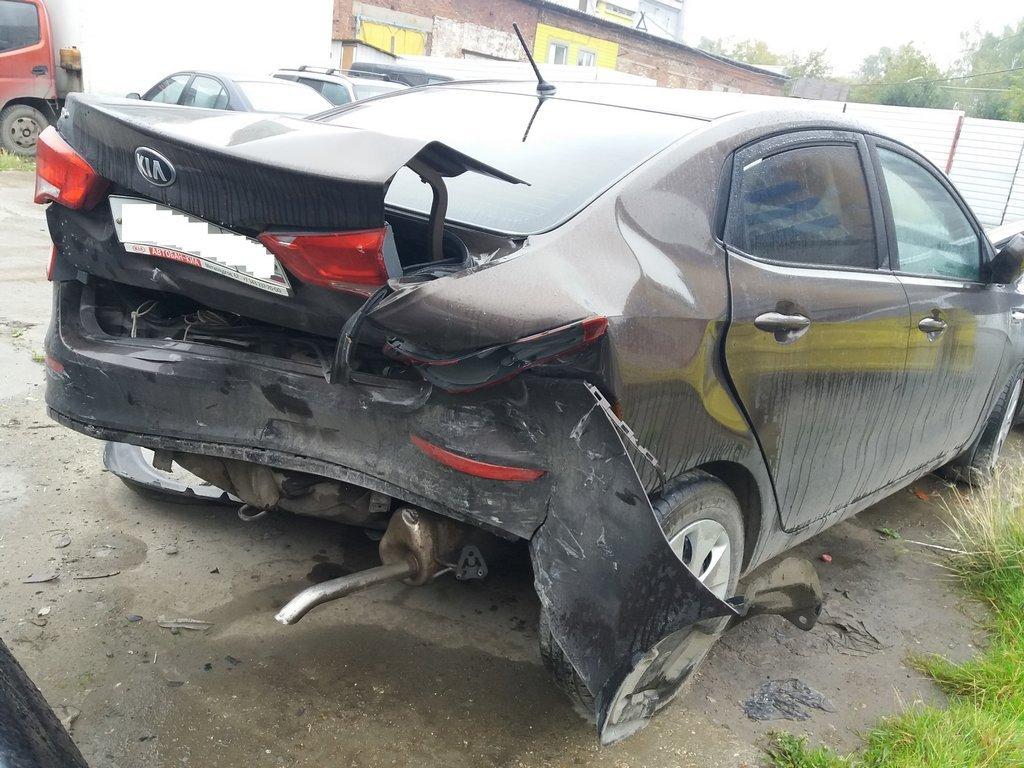 Оценка ущерба автомобиля kia rio