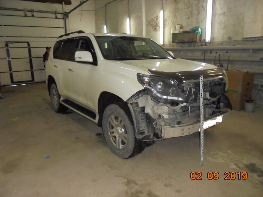 Оценка ущерба автомобиля land cruiser 150
